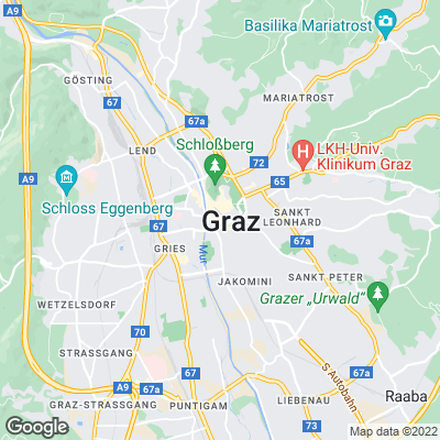 Karte von Graz