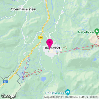 Karte Oberstdorf