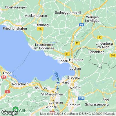 Karte Lindau