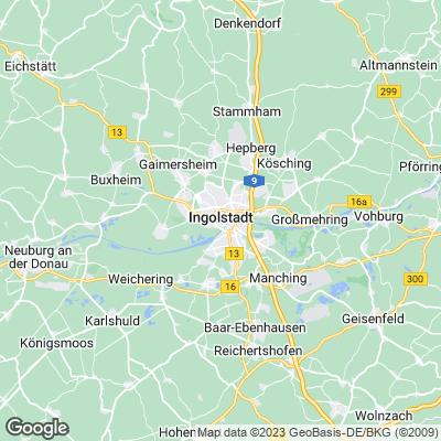 Karte Ingolstadt