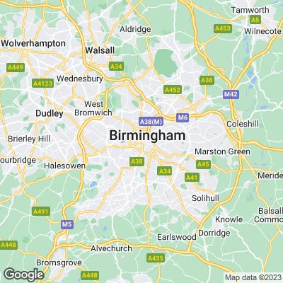 Birmingham Städtereisen
