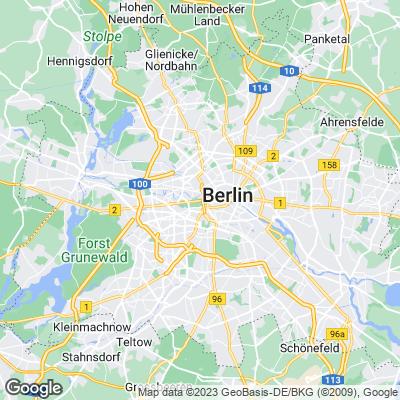 Karte von Berlin