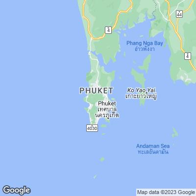 Phuket Karte