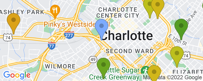 Staticmap?size=405x162&scale=2&center=715+church+street+charlotte+nc+28202 2362&zoom=13&markers=color:blue%7c715+church+street+charlotte+nc+28202 2362&markers=color:0x559f23%7c35.177742, 80.848755%7c35.223099, 80.824196&markers=color:0x6ba721%7c35.212173, 80.8508%7c35.237682, 80.850319%7c35.243187, 80.804123%7c35.171661, 80.833115%7c35.257099, 80.856697%7c35.184135, 80.794533%7c35.228672, 80.814682&markers=color:0x86b31f%7c35.166813, 80.832924%7c35.16777, 80.834801&markers=color:0xa3be1e%7c35.19685, 80.810043%7c35.184399, 80.8703%7c35.233948, 80.788414%7c35.219074, 80.782829%7c35.239281, 80.891647%7c35.207783, 80.800514%7c35.251163, 80.850266%7c35.252514, 80.821465&markers=color:0xbdc01d%7c35.179363, 80.797462%7c35.196571, 80.82135%7c35.215416, 80.825623%7c35.190201, 80.834503%7c35.223301, 80.759979%7c35.257275, 80.797508%7c35.229191, 80.834923&markers=color:0xd2b81a%7c35.240959, 80.781982%7c35.21014, 80.833496%7c35.211872, 80.889671%7c35.229107, 80.832275%7c35.268154, 80.784279%7c35.166374, 80.864502%7c35.296116, 80.846687%7c35.26099, 80.859138%7c35.250385, 80.766037%7c35.194939, 80.784119&markers=color:0xdca219%7c35.202553, 80.87661%7c35.232769, 80.89122%7c35.251835, 80.765549%7c35.257233, 80.824287%7c35.300323, 80.838982%7c35.266006, 80.859772%7c35.232224, 80.911011%7c35.208092, 80.766899%7c35.236698, 80.812775%7c35.224712, 80.881645&markers=color:0xe78817%7c35.261703, 80.915115%7c35.246178, 80.750328%7c35.204945, 80.905228%7c35.209671, 80