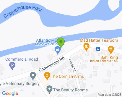 Map for Atlantic Motors Hayle