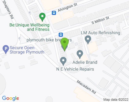 Map for N E Vehicle Repairs