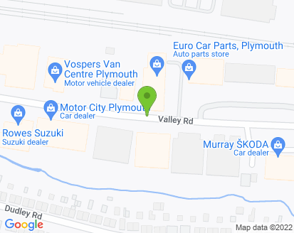 Map for Colebrook Car Service Centre Ltd