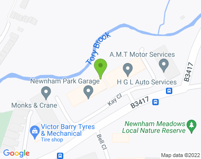 Map for AMT Motor Services Ltd