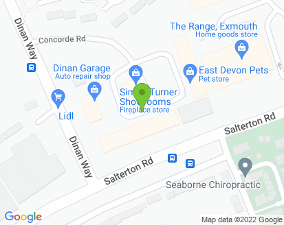 Map for Dinan Garage