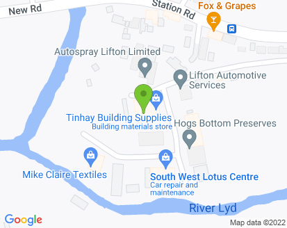Map for South West Lotus Centre Ltd