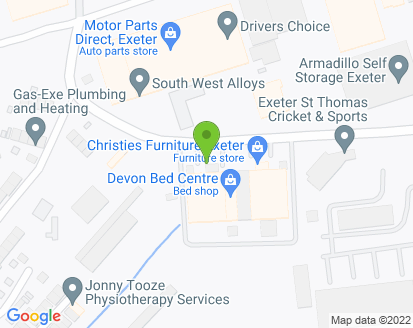 Map for Drivers Choice (Exeter) Ltd