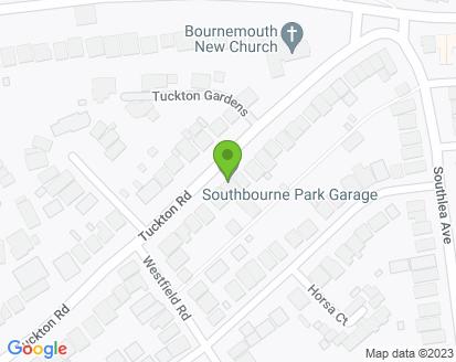 Map for Southbourne Park Garage