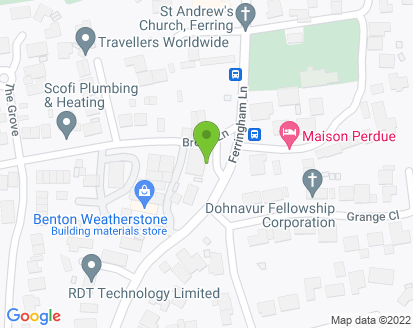 Map for Gem UK Garage Ferring Ltd