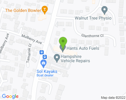 Map for Stubbington Motors
