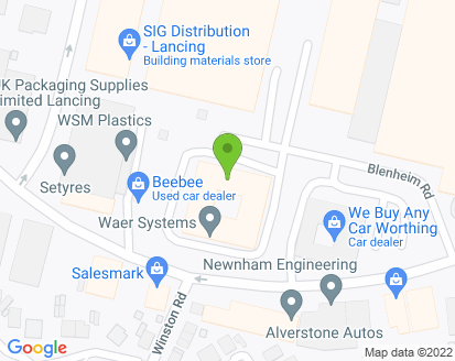 Map for Alverstone Autos Ltd