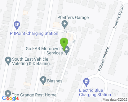 Map for Steve's Auto Repairs