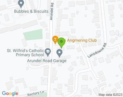 Map for Arundel Road Garage