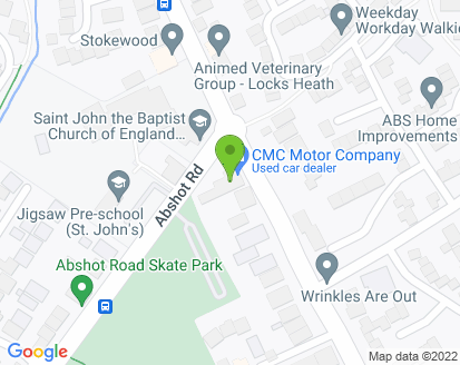 Map for Locks Heath Garage