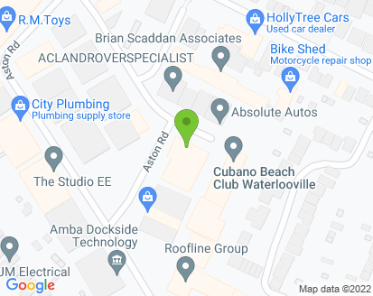 Map for Absolute Autos Waterlooville