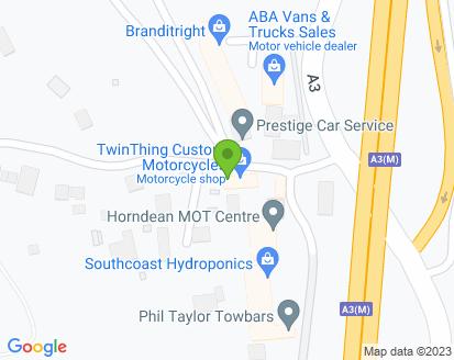 Map for Horndean MOT Centre incorporating Blendworth Vehcile Repairs