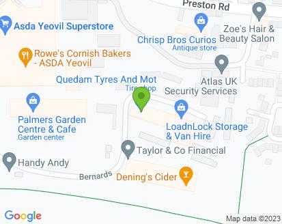 Map for Quedam Tyres & MOT