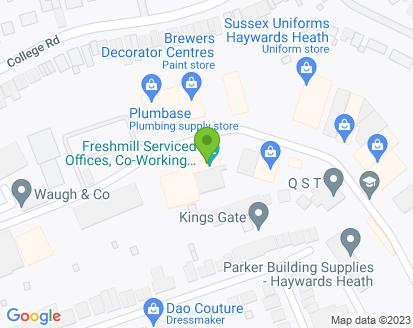 Map for Haywards Heath Auto Centre