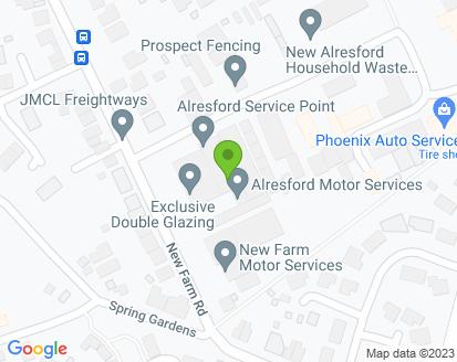 Map for Alresford Motor Services Ltd