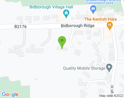 Map for Bidborough Service Station