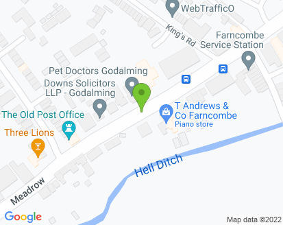 Map for Farncombe Service Station