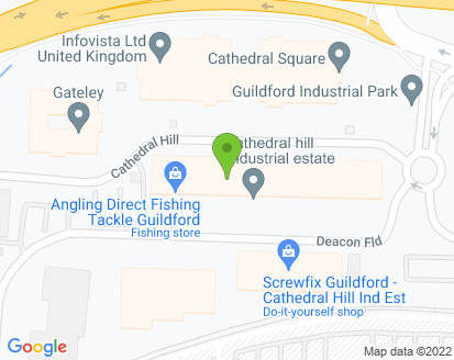 Map for Motormech Guildford Ltd