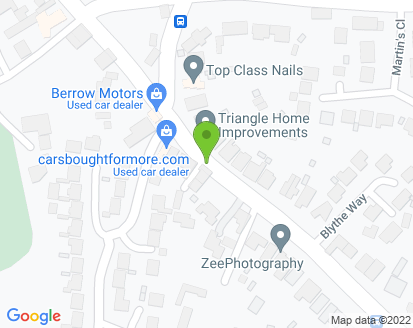 Map for Berrow Garage
