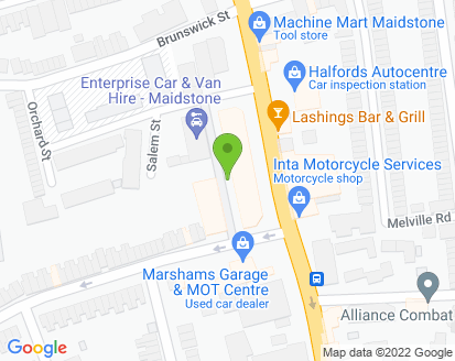 Map for Malling Repair Services