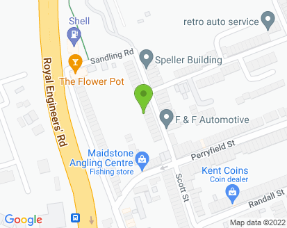 Map for F & F Automotive