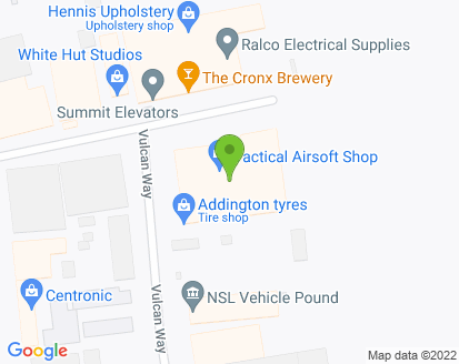 Map for Addington Auto Garage