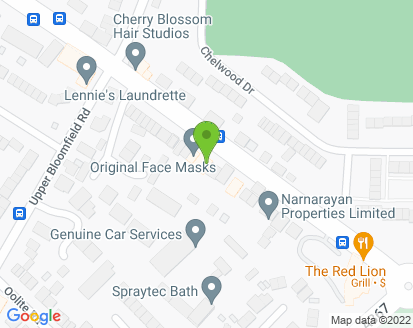 Map for Genuine Car Services Ltd