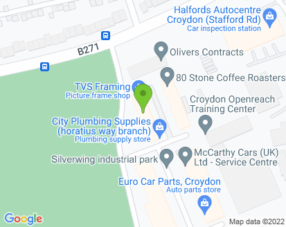 Map for Silver Wing Garage