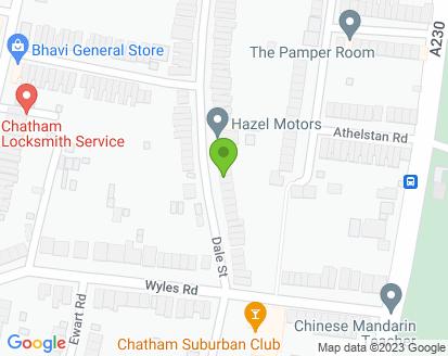 Map for Hazel Motors Limited