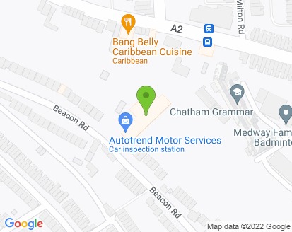 Map for Autotrend Motor Services