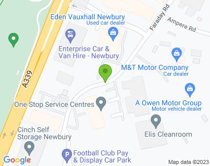 Map for Subaru 4 You (Newbury)