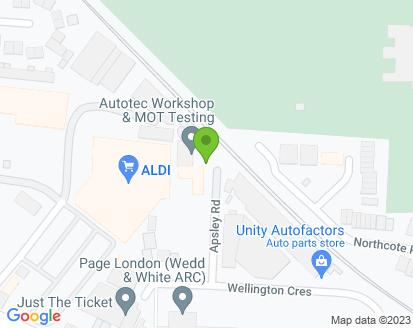 Map for Autotec Workshop