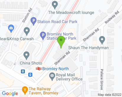 Map for Bromley Car Care Centre
