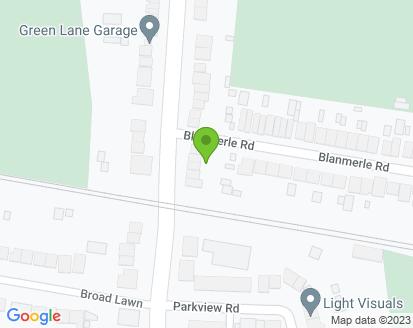 Map for Green Lane Garage