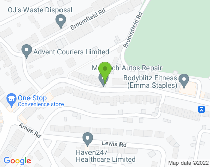Map for Monarch Auto Repairs Ltd