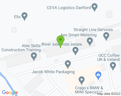 Map for Crago Auto Repairs Ltd (Dartford)