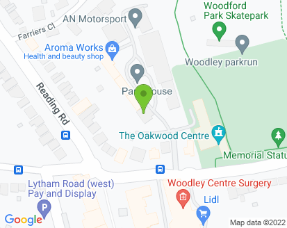 Map for Hicks MOT & Service Centre (Reading)