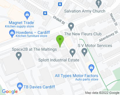 Map for N G Motors & Parts