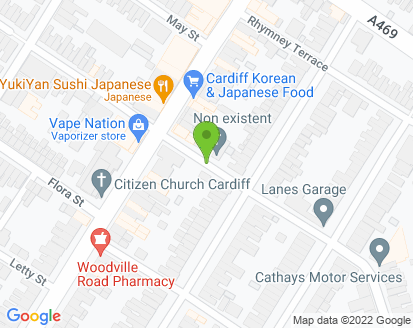 Map for Cardiff Auto Care
