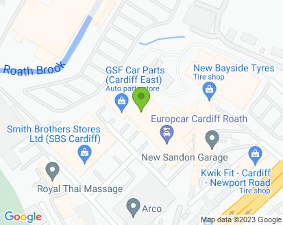 Map for Stars Garage