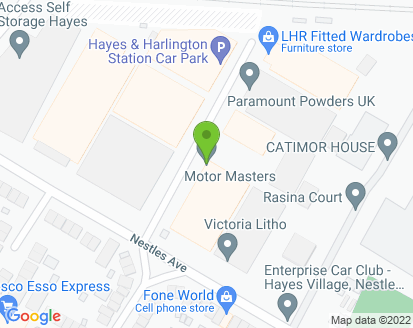 Map for Motor Masters
