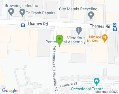 Map for Virdee Automobile Engineers Ltd